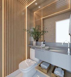 Bathroom Design Luxury, Bathroom Design Small, Faux Plafond Design, Grey Walls Living Room, Toilet Design, Hotel Interiors, Amazing Bathrooms, Interior Decorating, House Design