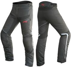 DRIRIDER GT REACTOR MENS PANTS BLACK