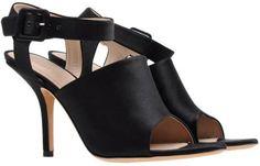 Celine Black Satin Sandal SS13 Size 39.5