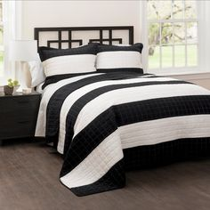 Lush Decor sells a variety of stripe quilts, such as the Stripe 3 Piece Quilt Set online. To browse our selection, check out our website today!
