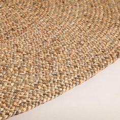Round Natural Braided Jute Rug | World Market