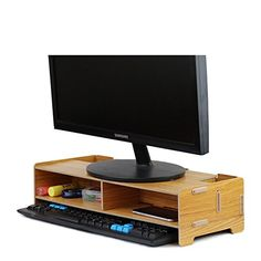 9 Best Monitor Stand Images Monitor Stand Computers Desk