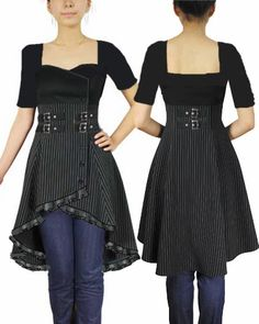 BlueBerryHillFashions: Gothic Fashions DIY Inspiration