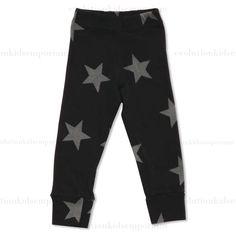 Nununu Black Stars Leggings