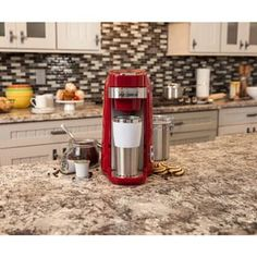 Shop for Hamilton Beach Red FlexBrew Single-Serve Plus Coffee Maker. Get free shipping at Overstock.com - Your Online Kitchen & Dining Outlet Store! Get 5% in rewards with Club O! - 17096354