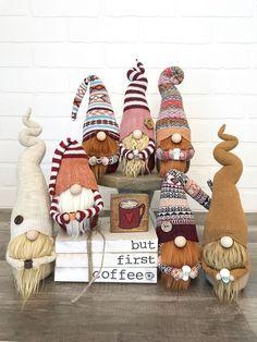 Fur Leg Warmer Gnome -- Christmas Gnome -- Holiday Gnome -- Christmas Decor -- C. Fur Leg Warmer Gnome -- Christmas Gnome -- Holiday Gnome -- Christmas Decor -- C. Crafts To Do, Fall Crafts, Holiday Crafts, Diy Crafts, Scandinavian Gnomes, Theme Noel, Christmas Gnome, Handmade Christmas, Diy Weihnachten
