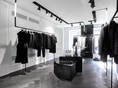 Karl Lagerfeld Store by Karl Lagerfeld via Frameweb.com