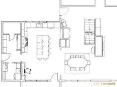 Vintage Remodel Proposal Floor Plan 2013
