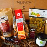 A box full of Crete with some extras from Attica and Kymi in Evia. Fig Bars, Food Box, Snack Recipes, Snacks, Mediterranean Recipes, Crete, Olives, Recipe Box, Chips