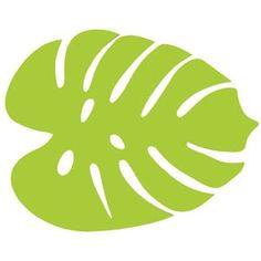 The Design Gift Shop - ANNABEL TRENDS - Tropical Leaf Felt Placemats