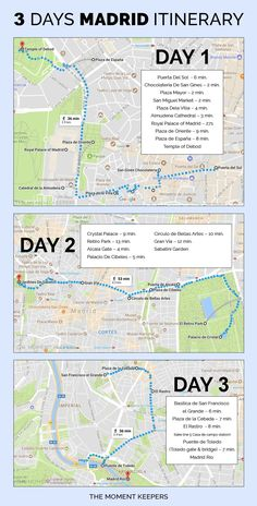 3 Day Itinerary Madrid #spaintravel