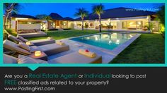 Looking to Buy or Sell your Property? www.postingfirst.com