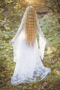 """""""May it be a light to you in dark places, when all other lights go out."""" Lady Galadriel J. Tolkien Photo by ManthenieL Photo. Lady of Light Looks Hippie, Elven Princess, Rock Poster, Beautiful Fantasy Art, Princess Aesthetic, Fairy Dress, Mademoiselle, Long Hair Styles, Wedding Dresses"""
