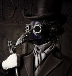 Why Is Steampunk Plagued by Plague Doctors? « Steampunk R Informative article~I'll post this to my Steampunk board too.