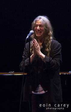 The Poet Speaks: Patti Smith and Philip Glass  © Eoin Carey