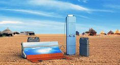 Parabosol is a portable solar-powered water treatment system for remote areas