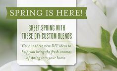3 DIY Essential Oil Custom Diffuser Blends for Spring: Spring Blossom, Hawaiian Sunrise, and Sweet Springtime ~ Young Living Essential Oils