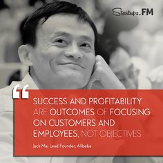 Jack Ma - The man who made Alibaba.com one of the world's most popular sites! #entrepreneurs