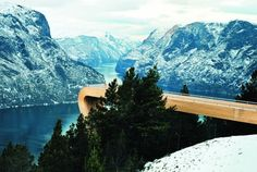 Viewpoint Aurland by Tommie Wilhelmsen.