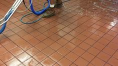 Cleaning Commercial Kitchen Floors - Las Vegas, NV
