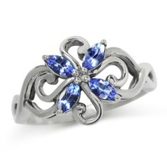 Natural Tanzanite 925 Sterling Silver Victorian Style Flower Ring Size 10 Silvershake,http://www.amazon.com/dp/B00FJX8EY2/ref=cm_sw_r_pi_dp_7ZSvtb05CYNS64JA