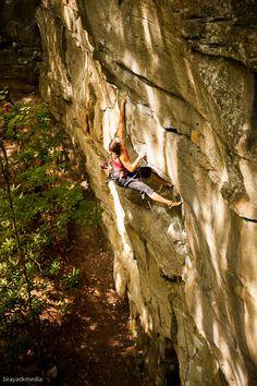 rock climbing girls Hairy