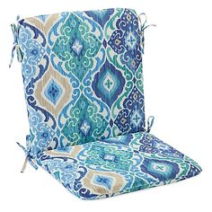 A gorgeous array of blues brings a soothing ambiance to your patio with the Ikat Blue outdoor collection of cushions and throw pillows. Fade and stain-resistant, each provides a relaxing place to sit back and enjoy warm summer days and nights. Outdoor Cushions And Pillows, Throw Pillows, Outdoor Pillow, Relaxing Places, Blue Bedding, Ikat, Home And Family, Outdoor Furniture, Ties