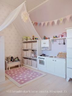 The most beautiful room decor ideas for children www. - Spielzimmer - Home end Casa Kids, Playroom Design, Playroom Ideas, Playroom Organization, Playroom Decor, Basement Ideas, Toy Rooms, Kids Rooms, Little Girl Rooms