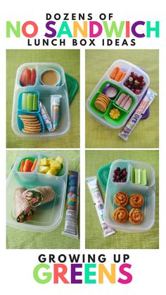 Here you'll find links to our dozens of No Sandwich Lunch Box ideas! Lunch…