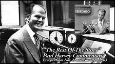 The Rest Of The Story: Paul Harvey, Conservative Talk Radio Pioneer : NPR - so many memories! Paul Harvey Quotes, Radio Usa, Because He Lives, Easter Story, Old Time Radio, Rush Limbaugh, Sean Hannity, Personalized Books, Inspirational Videos