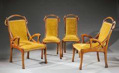 Eugene Gaillard Chairs