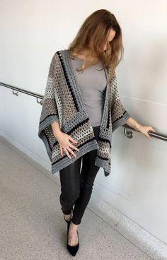 013907984f41 Crochet Ruana PATTERN