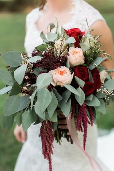 This elegant barn wedding will still your heart with its classic and elegant red, blush and gold details throughout! Our favorite part? All the stunning florals of course! Don't miss this elegant floral filled red blush and gold barn wedding.