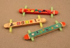 Popsicle Stick Kazoo | Sophie's World