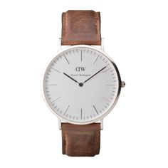 This Daniel Wellington classic cardiff watch jumped out at me with it's simplicity and thinness. [grab it for $229]  www.danielwellington.com