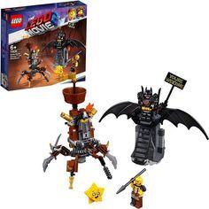 Batman Evil Joker avec arme faite avec LEGO pièces Nouveau