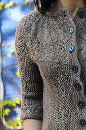 Ravelry: Vine Yoke Cardigan pattern by Ysolda Teague