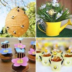 festa abelhinha: decoração infantil criativa