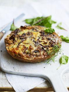 Sweet potato & blue cheese frittata | Jamie Oliver