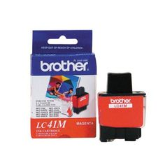 Brother LC41M Magenta Ink Cartridge #LC41M #Brother #InkCartridges  https://www.techcrave.com/brother-lc41m.html