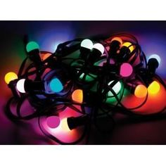 ÉCLAIRAGE DE FÊTE 11.5m, 20 LAMPES LED COULEURS - Achat / Vente GUIRLANDE LUMINEUSE EXT ÉCLAIRAGE DE FÊTE COULEURS - Soldes* Cdiscount