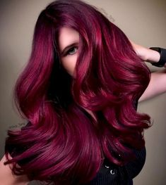 48 Cool Hair Color Ideas to Try in 2018 – Frisuren Hair Color 2018, Bold Hair Color, Magenta Hair Colors, Hair Colour Trends, Cool Hair Colours, Deep Red Hair Color, Hair Color For Brown Skin, Cabelo Ombre Hair, Guy Tang Hair