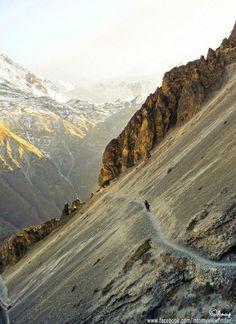 beautiful landscapes trekking in Nepal