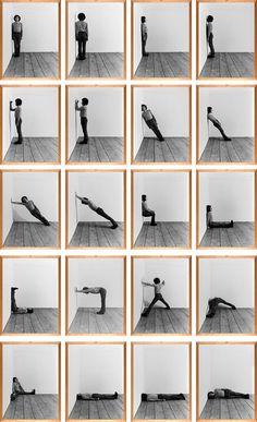 Klaus Rinke: BODEN, WAND, ECKE, RAUM, 1970. © Georges Meguerditchian – Centre Pompidou, MNAM-CCI (diffusion RMN) © Klaus Rinke.