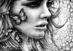 Katarzyna A. Kozlowska is a Polish artist who drew the amazing pencil drawings. Skanowanie What goes around Unforgivable mistakes Lost souls The devil you Colouring Pages, Adult Coloring Pages, Coloring Books, Mandalas Tattoos, Pencil Drawings, Art Drawings, Pencil Art, Graphite Drawings, Beauty Hacks Video