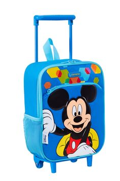 Disney Wonder - Mickey Mouse School Trolley #Disney #Samsonite #MickeyMouse #Mickey #Mouse #Travel #Kids #School #Schoolbag #MySamsonite #ByYourSide