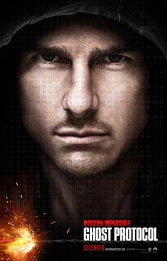 It's rare that I look forward to a Tom Cruise film - Mission Impossible: Ghost Protocol Ghost Protocol, Tom Cruise, Ethan Hunt, Great Movies, New Movies, Movies Online, Awesome Movies, Interesting Movies, Romantic Movies
