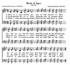 Rock of Ages ~ An all time favorite hymn of millions of people
