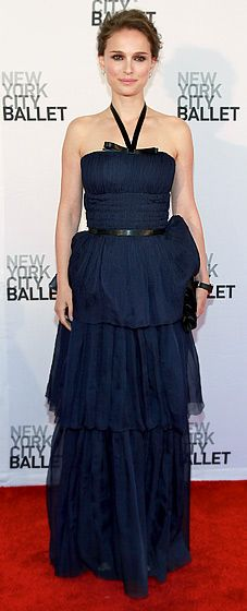 Perfection. (Natalie Portman in Dior at the New York City Ballet's Spring Gala.)