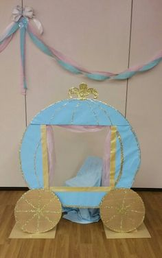 Cinderella carriage photo booth.